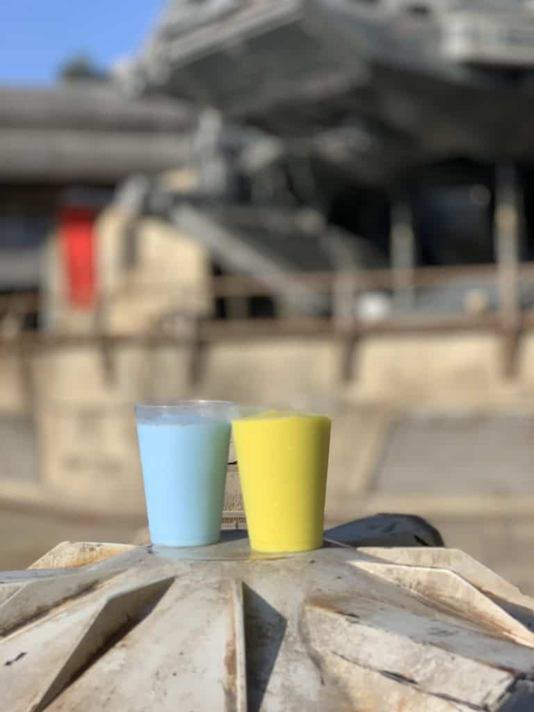 Blue and green milk Star Wars Galaxy's Edge