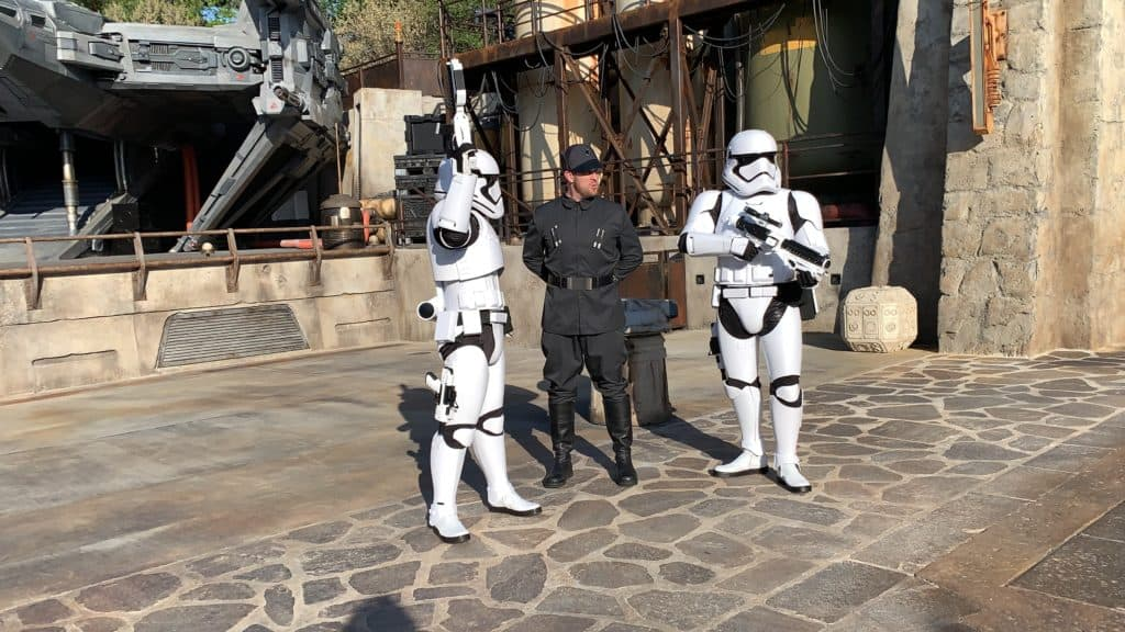 Storm Troppers at Star Wars: Galaxy's Edge