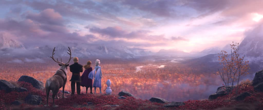 Image from Frozen 2 trailer