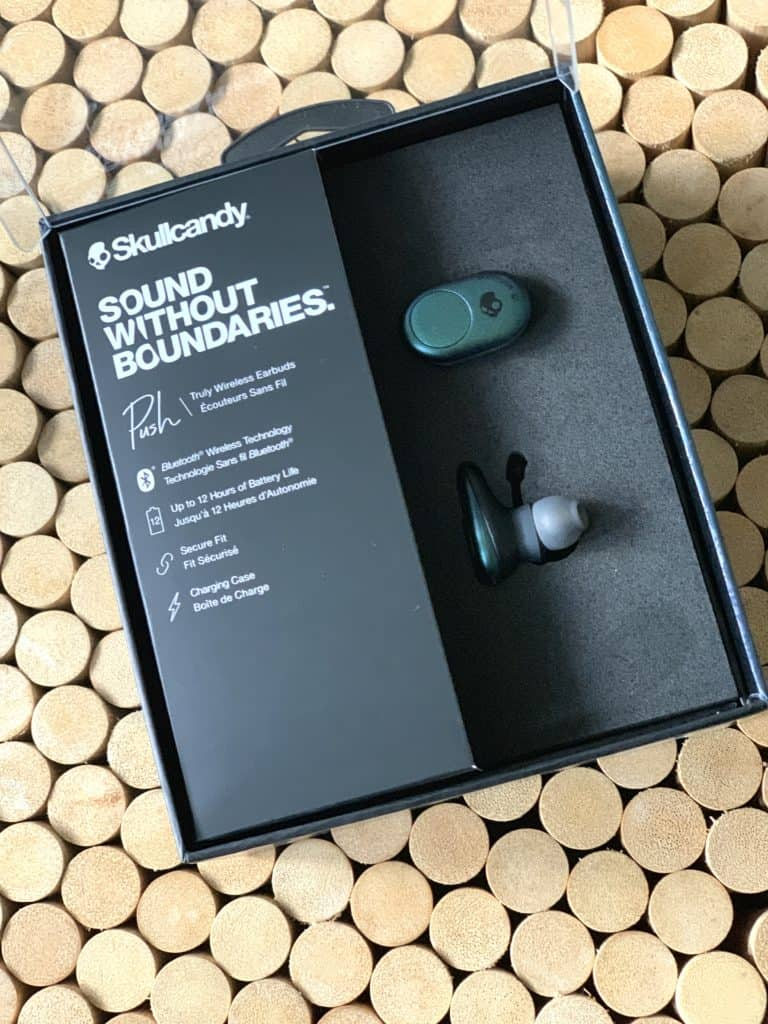 Skullcandy Push water resistant wireless earbuds under 100