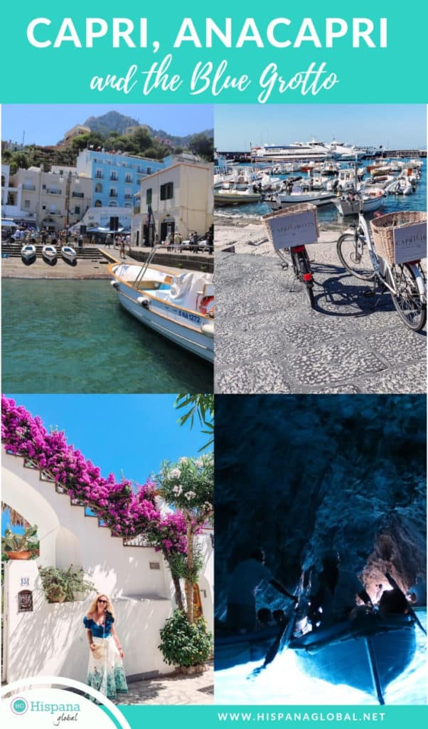 Planning a trip to the Amalfi Coast in Italy? Here are my top tips if you visit Capri, Anacapri and the Blue Grotto for the day.
