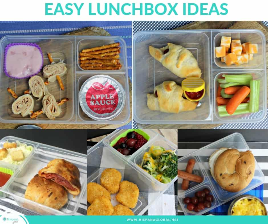 Essy and delicious lunchbox ideas