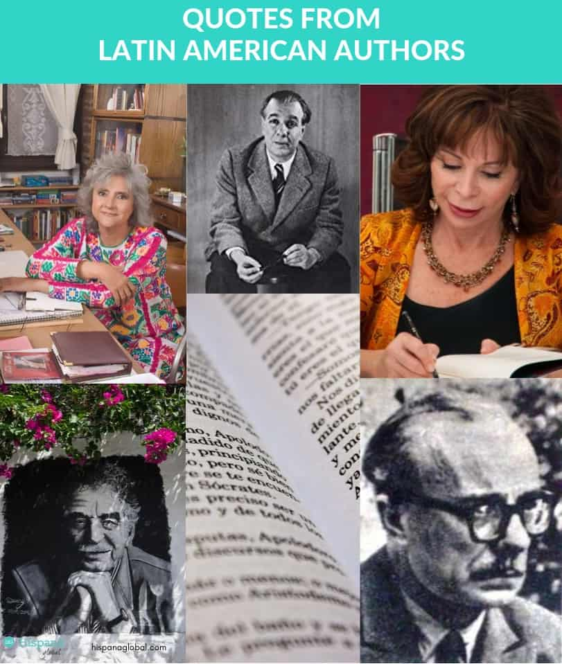 Top quotes from Hispanic and Latin American authors