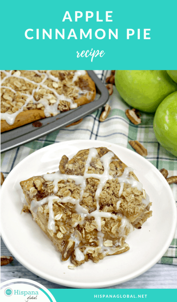 Delicious cinnamon apple slab pie recipe