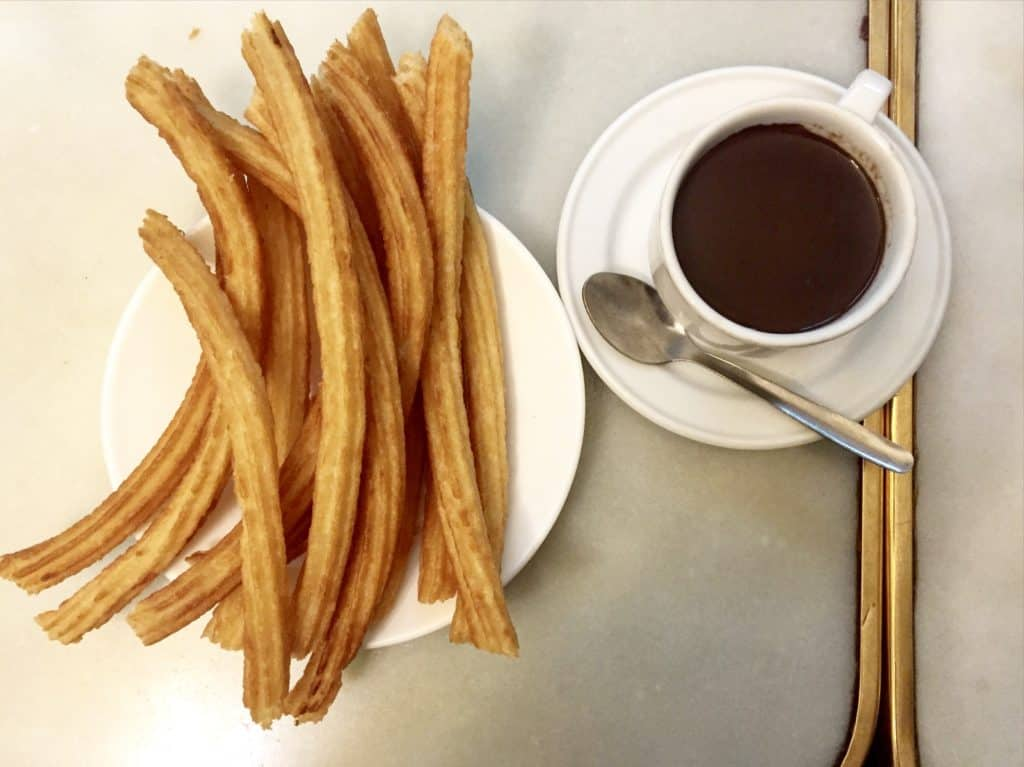 Churros are a must do in Spain