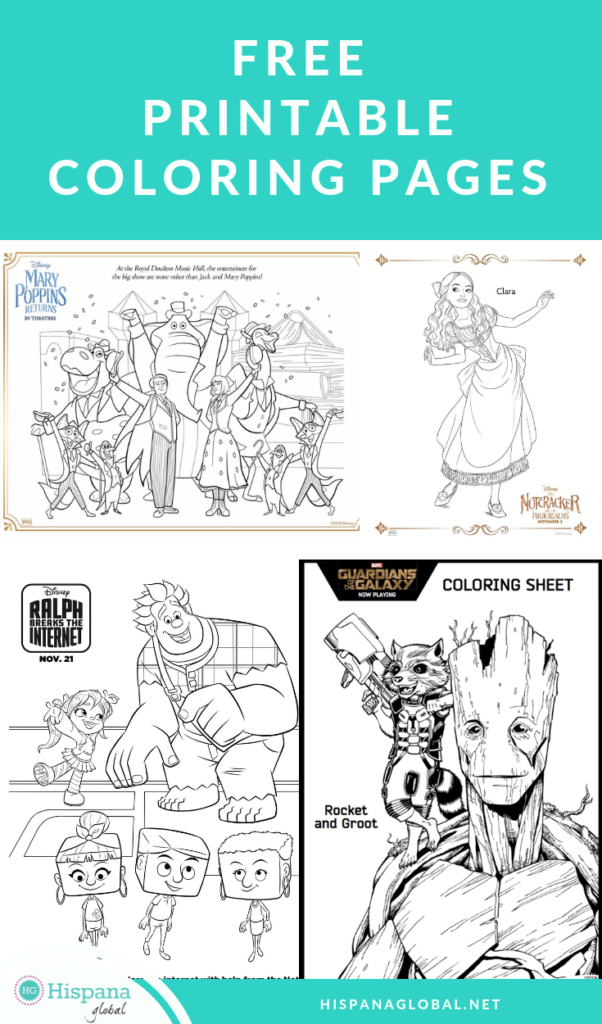 Free coloring pages you can print at home