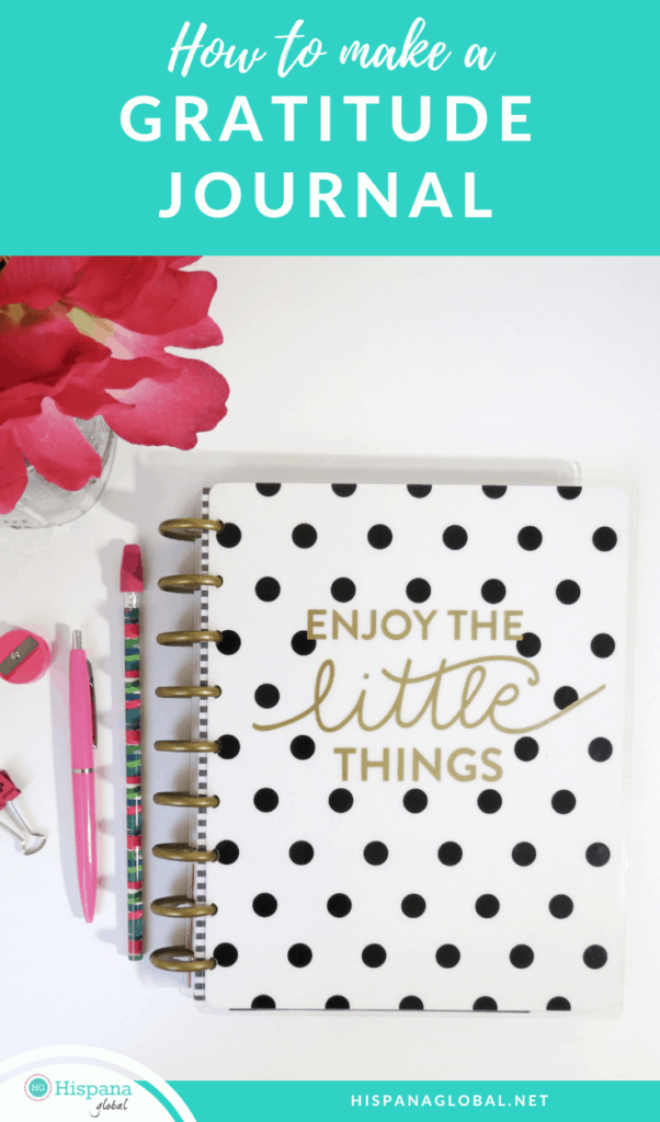How to make a gratitude journal or print one for free
