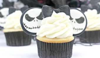 If you're a big The Nightmare Before Christmas fan, you'll love these Jack Skellington cupcakes. We have step by step instructions!