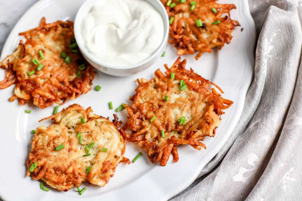 How to make classic potato latkes for Hanukkah or any Jewish holiday
