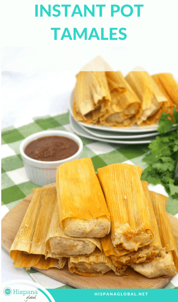 Tamales season is in full swing. Here's an amazing recipe so you can make pork tamales in your Instant Pot.