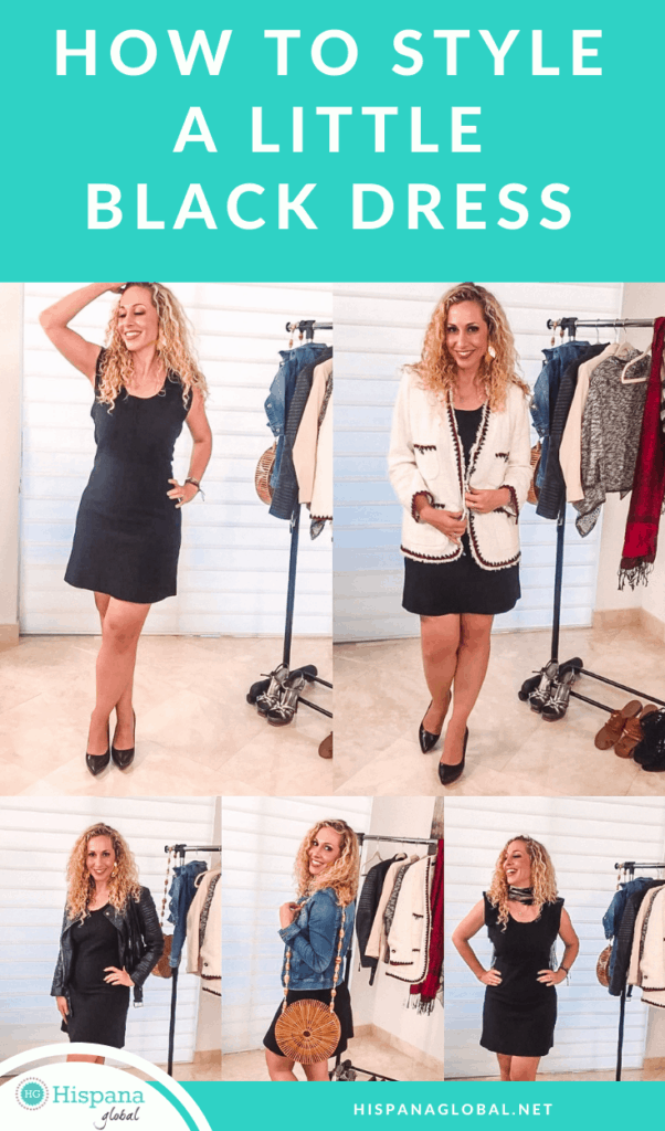 You might be surprised by how many different looks you can create with what you already have. Learn how to style a black dress endless ways!