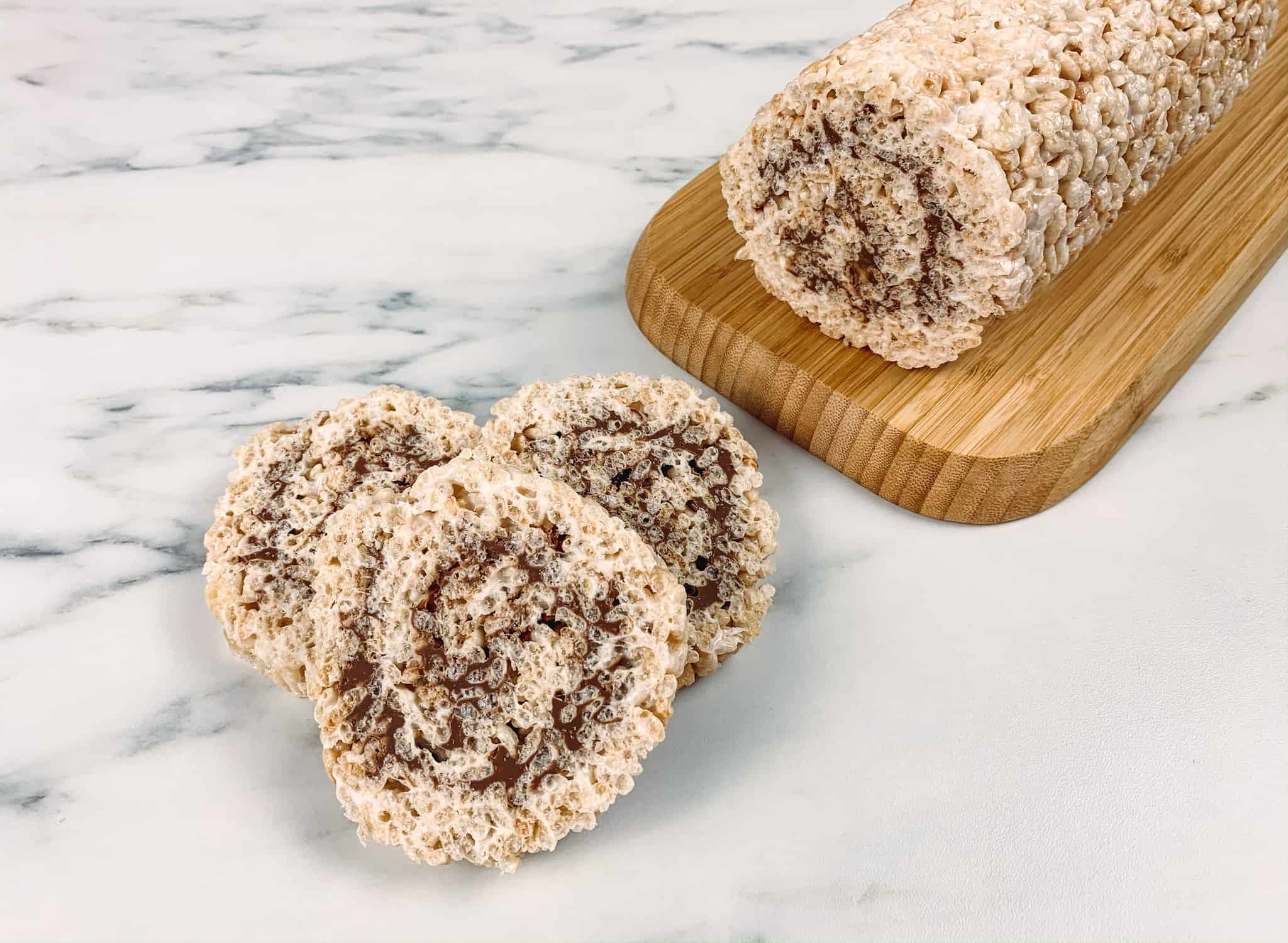 Gluten Free Rice Krispies and Chocolate treats perfect as a dessert or for Valentine's Day