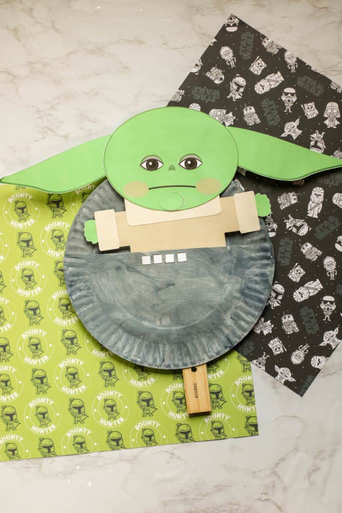 How to make an adorable Baby Yoda puppet inspired by The Child on The Mandalorian.
