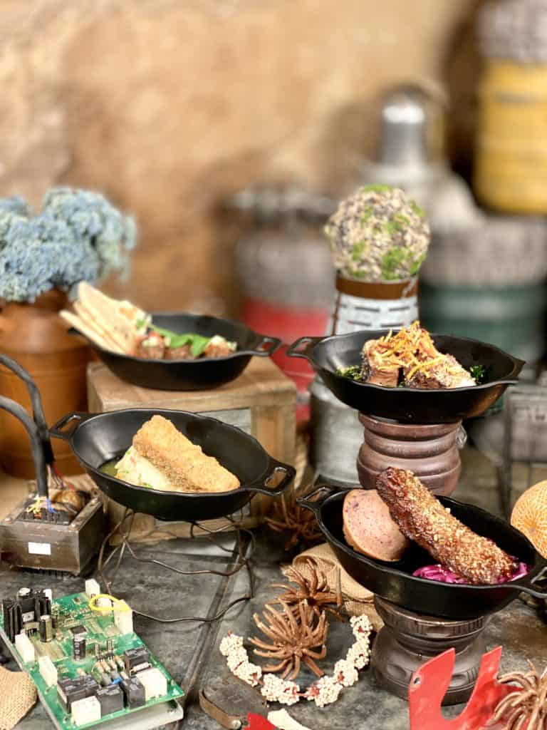 Food at Star Wars Galaxy's Edge