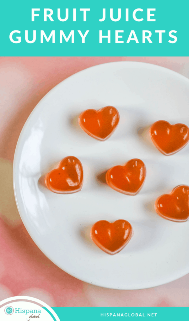 Make your own homemade heart-shaped gummies with this simple and easy recipe. It only has 3 ingredients!