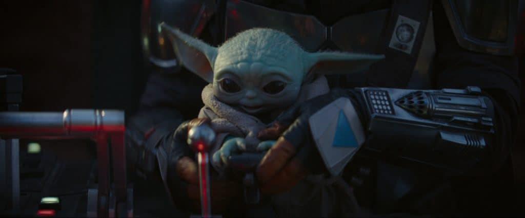 Baby Yoda or The Child from The Mandalorian