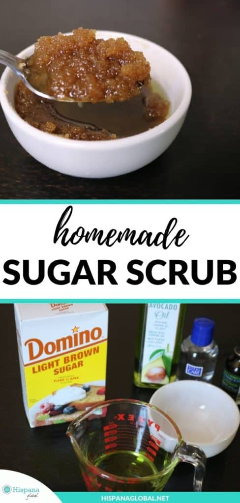 This homemade sugar scrub recipe is so easy to make and it will leave your hands silky soft.