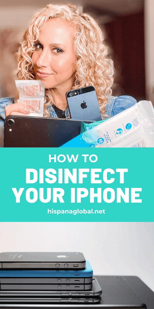 Experts say our smartphones and electronic devices should be cleaned at least once a day, especially with the spread of the novel coronavirus. Here's how to disinfect your iPhone and iPad.