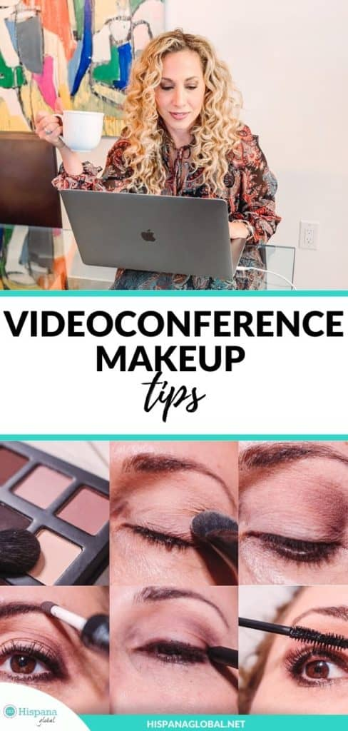 How to do your makeup for videoconference meetings