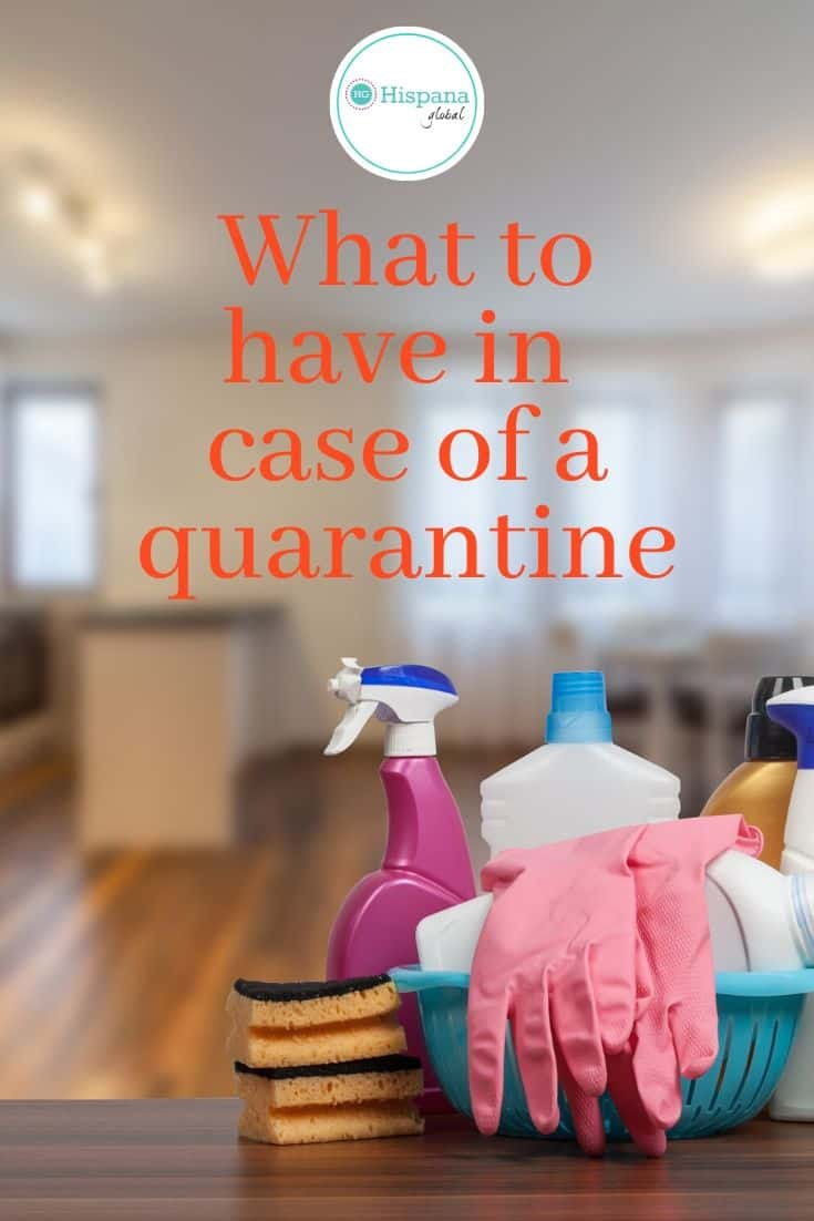 The time to plan for a quarantine or lockdown is now, especially if you or a loved one is at high risk for complications. Here is a list of things you may need in case of a quarantine.