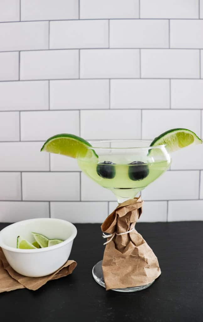 Learn how to make the perfect drink for Star Wars fans and to celebrate May the 4th: a Yoda cocktail. You can also turn it into a mocktail.