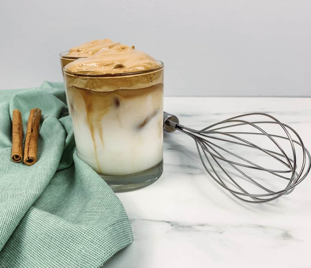 Here's how to make whipped coffee (also called Dalgona coffee) in just minutes to get your caffeine fix! It is such a delicious treat.