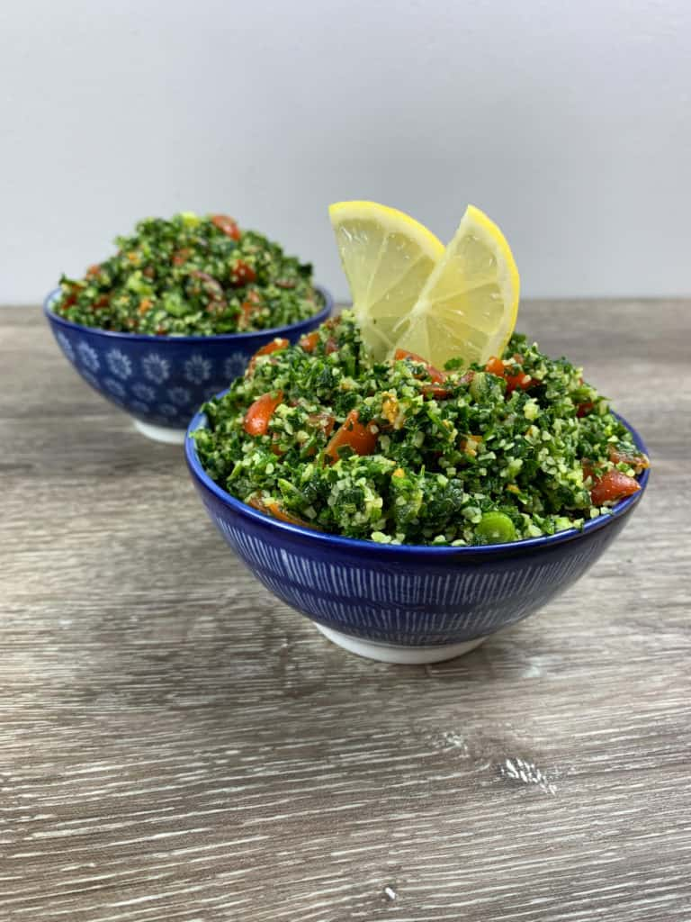 This fresh tabbouleh salad is so refreshing and easy to make. It´s even better if you make it the night before!
