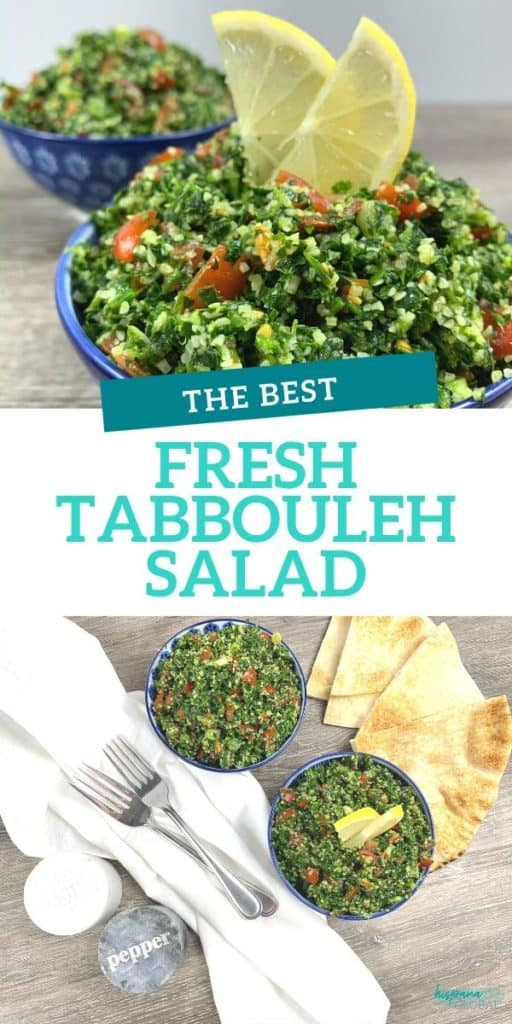 The best and easiest fresh tabbouleh salad recipe