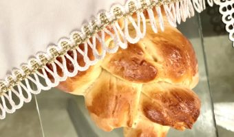 This delicious, fluffy challah recipe is slightly sweet and very easy to make. It's my family's favorite bread.