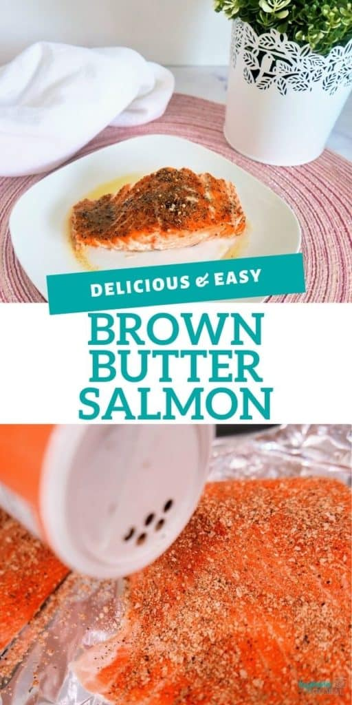 Make any meal extra special with this spectacular brown butter salmon. It's delicious, easy to make, and protein-rich.