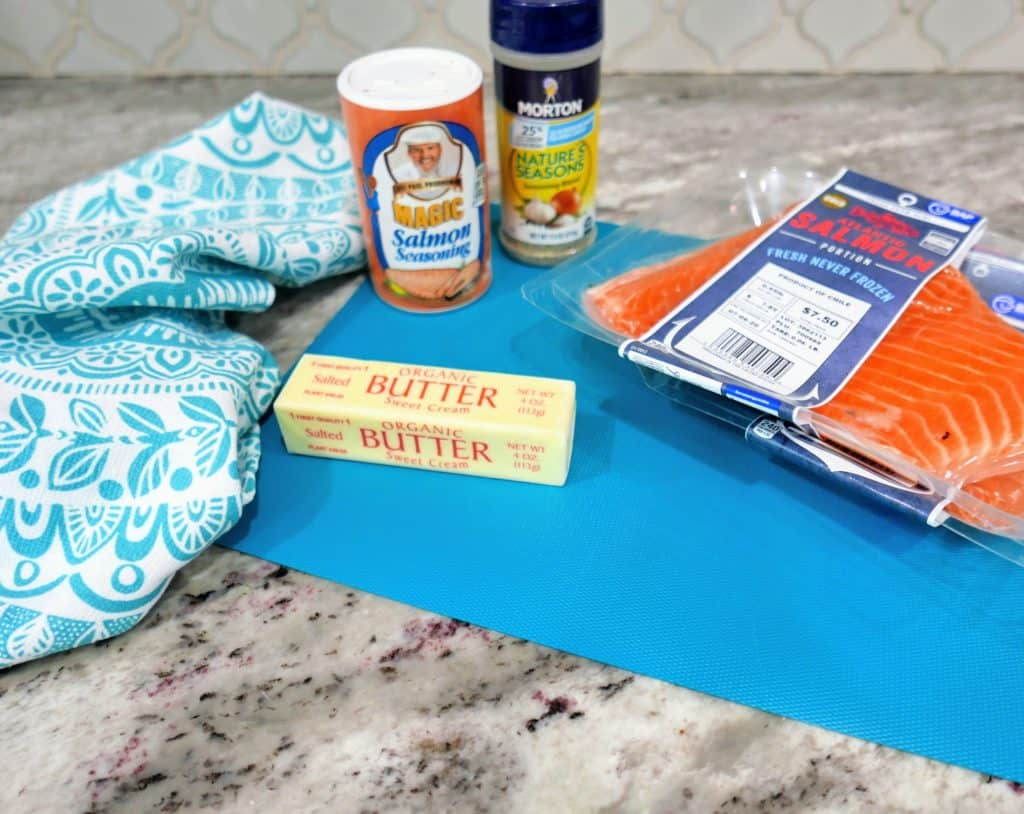 Easy brown butter salmon recipe ingredients
