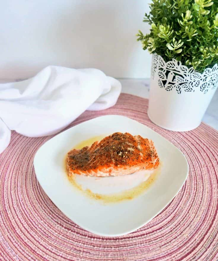 Easy brown butter salmon recipe