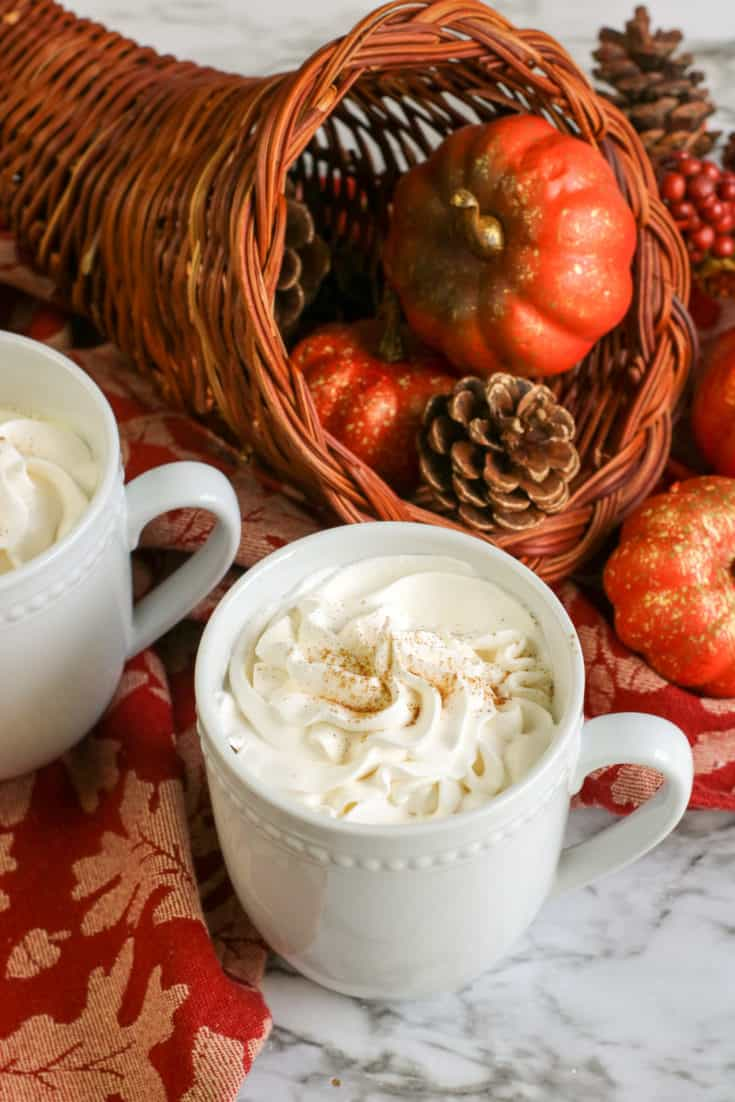 Pumpkin spice latte copycat recipe