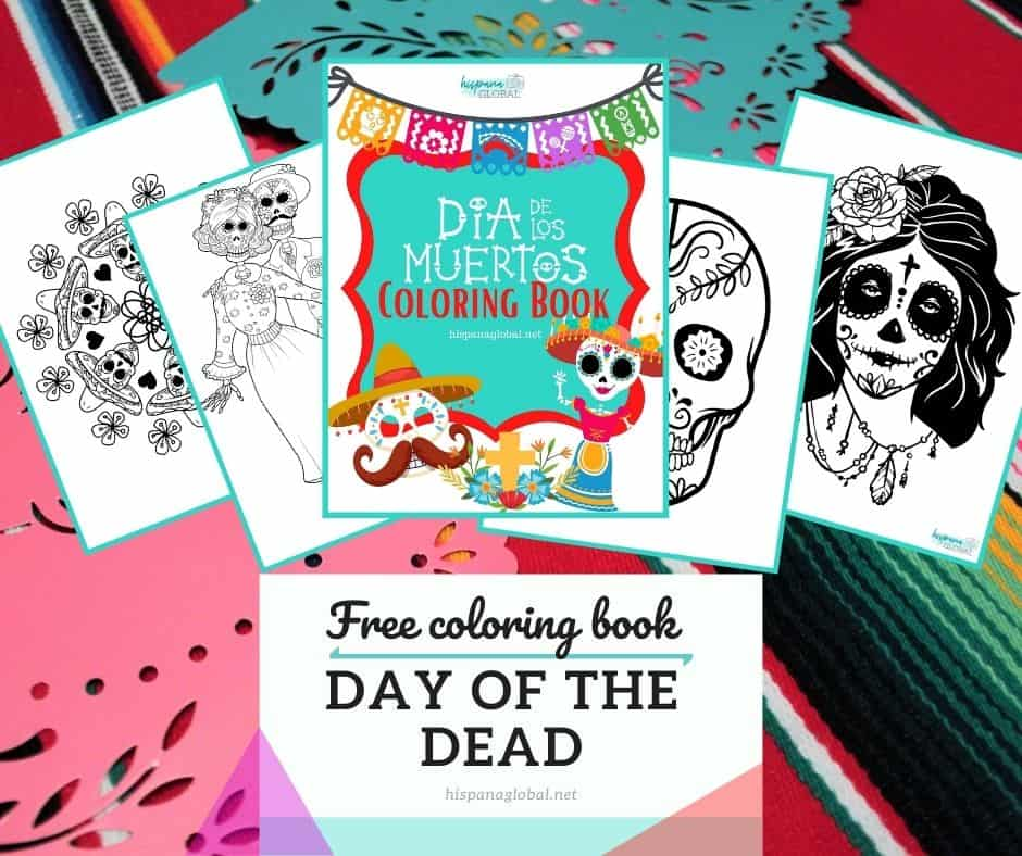 Get a free Day of the Dead or Día de los Muertos coloring book. This fun and beautiful activity can help you teach children about this lovely tradition.
