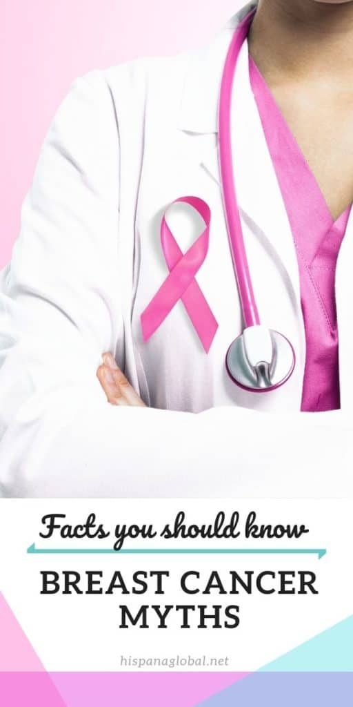There are so many breast cancer myths out there, but Dr. Jane Mendez, chief of breast surgery at the Miami Cancer Institute, tells you the facts.