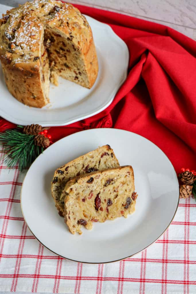 Panettone or Christmas bread is a yummy holiday tradition. Learn how to bake it at home. It's a delicious homemade gift!