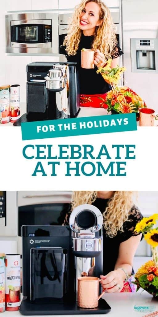 #AD Looking to elevate your at home celebrations for the holidays? The Drinkworks® Home Bar by Keurig® allows you to expertly craft cocktails in a minute or less, without having to stock up on an endless ingredient list. Make Moscow Mules, Mojitos, Margaritas, Cosmopolitans and more drinks by simply pressing a button. It's the perfect holiday gift to treat yourself or anybody who has (almost) everything. Content for 21+. Please enjoy responsibly. #Drinkworks_Partner