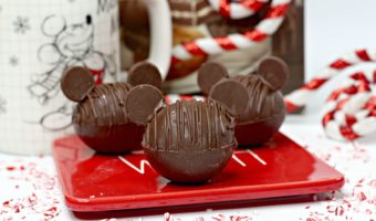Learn how to make these delicious Mickey Mouse hot cocoa bombs. This is the most magical way to enjoy hot chocolate!