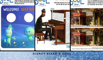 Delight your children with these fun and free printable activity sheets from the new Disney Pixar movie Soul.
