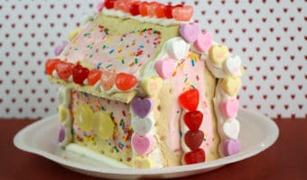 valentine's day pop tart house