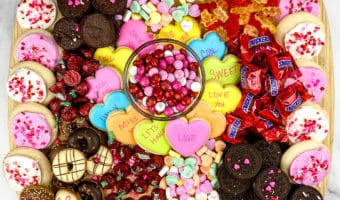 Make the ultimate Valentine's Day candy board in just minutes with these simple tips.