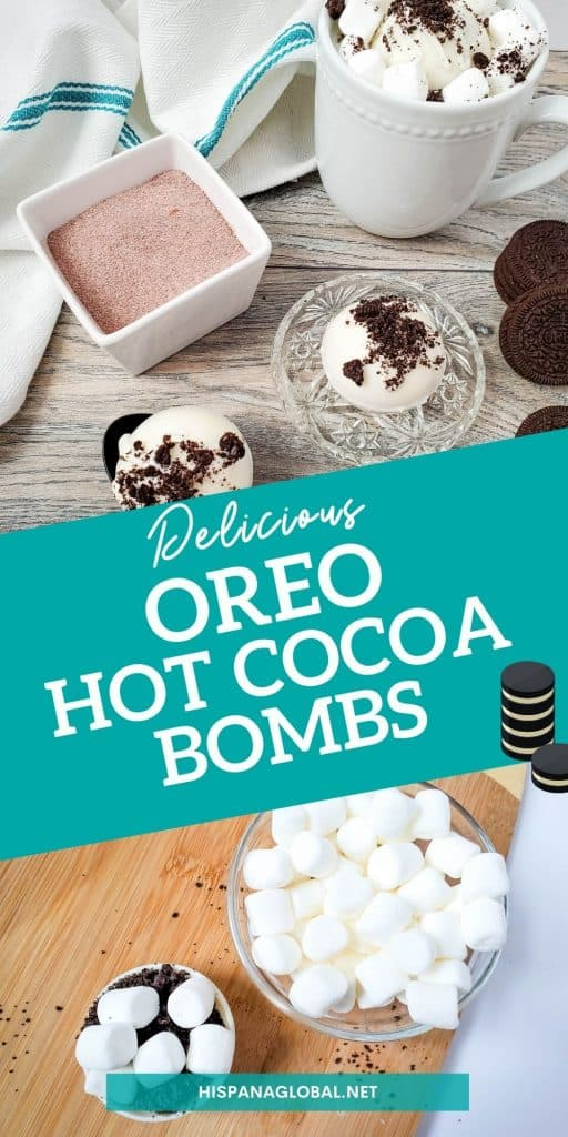 Oreo hot cocoa bombs are perfect for cookies and cream lovers or to celebrate National Oreo Day on March 6. Follow the simple instructions to make your own  hot chocolate bombs with Oreo cookies.