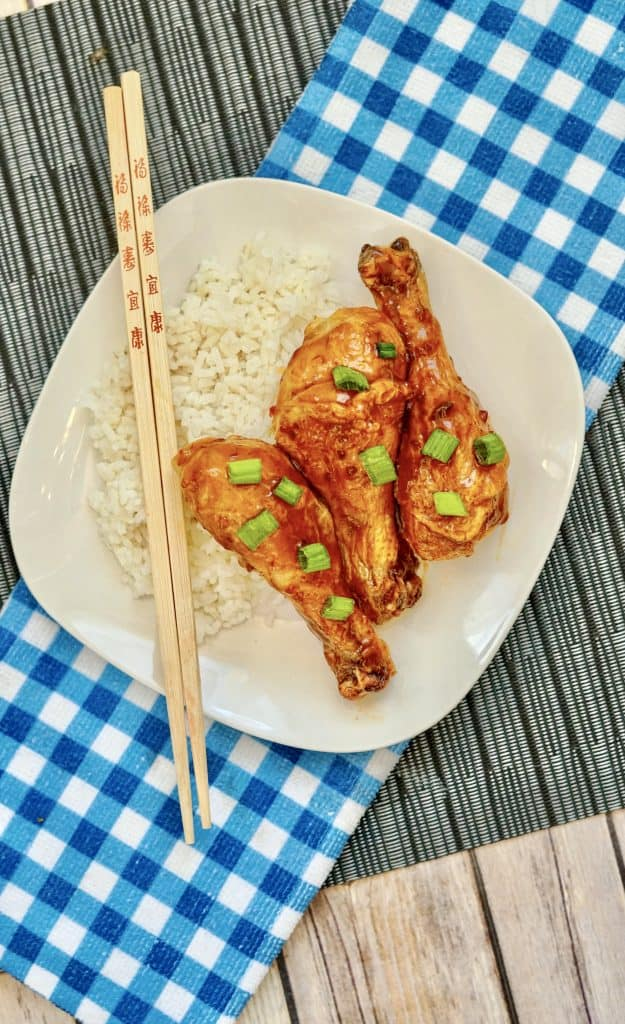 Serve up these Air Fryer Teriyaki Chicken Drumsticks for dinner tonight. Teriyaki drumsticks are loaded with flavor—a four ingredients dinner.